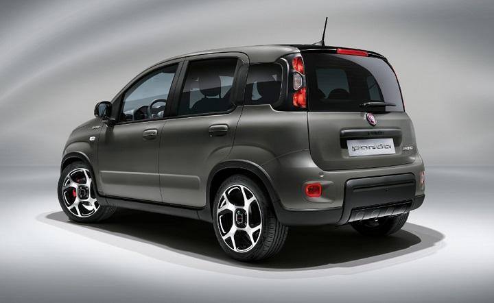 Fiat Panda 2021, On the Rocks