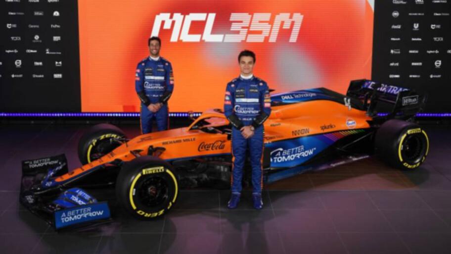 McLaren MCL35M, estrena motor Mercedes y está listo para la F1 2021