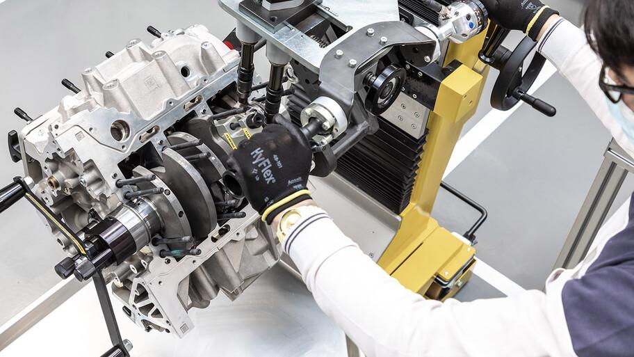 Cómo se fabrica Nettuno, el nuevo motor estrella de Maserati