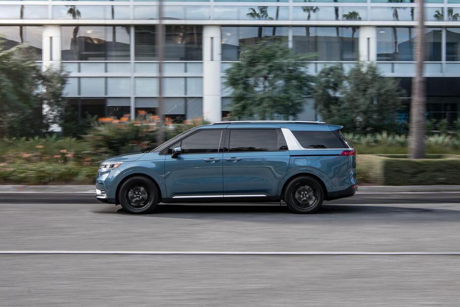 Kia Carnival 2022: el sucesor de la Sedona es un SUV con puertas corredizas