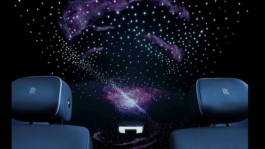 Rolls-Royce Phantom Tempus: opulencia máxima inspirada en el tiempo y el espacio