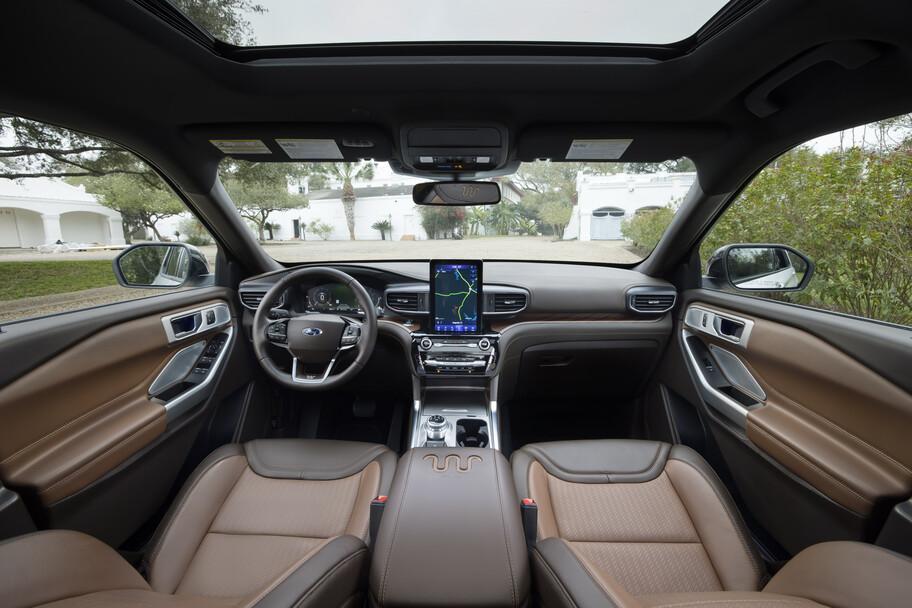 Ford Explorer King Ranch: un SUV repleto de lujo como si fuera un Lincoln