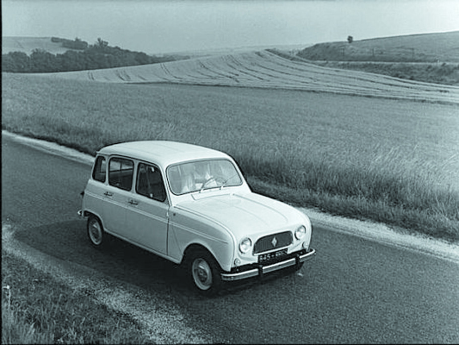 La historia del Renault 4L, el auto que revolucionó la industria del automóvil
