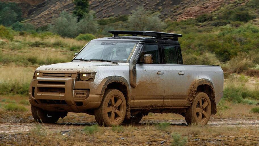 Land Rover tiene pensado producir una versión pickup del nuevo Defender