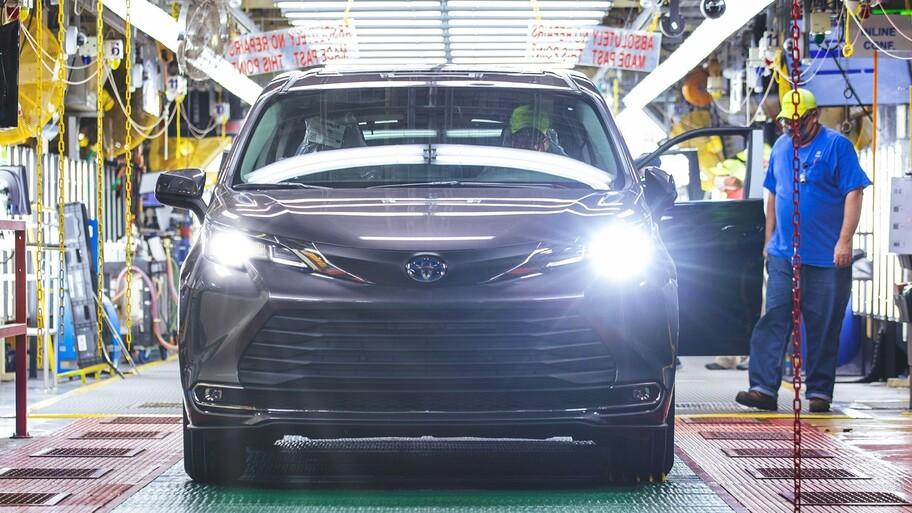 Toyota registra 30 millones de vehículos producidos en Estados Unidos