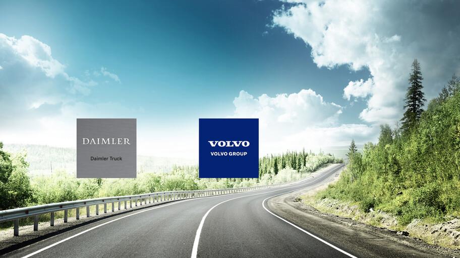 ¿Cuál es el fin de la asociación entre Volvo y Daimler?