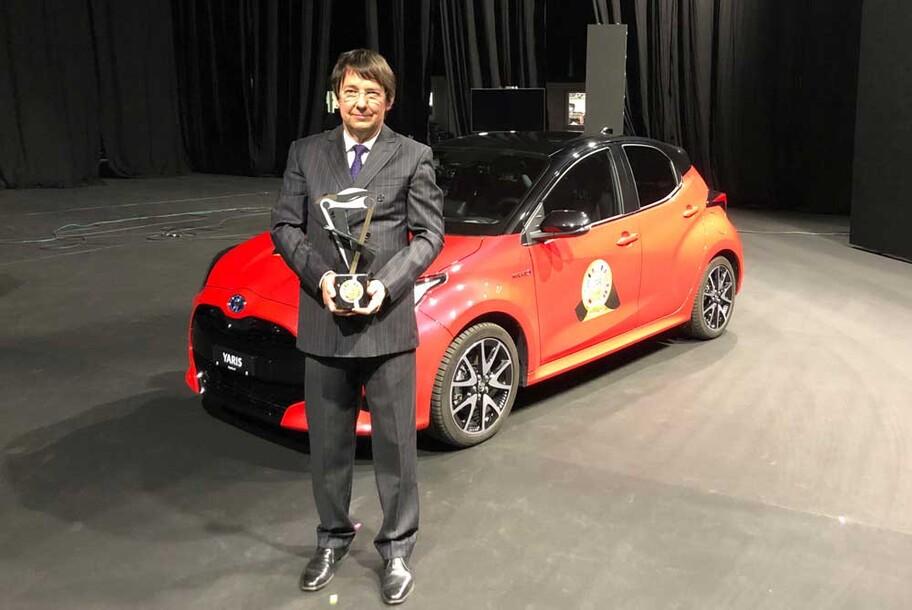 Toyota Yaris es el Auto del Año en Europa en 2021