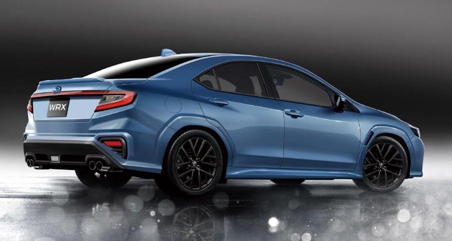 Esta la nueva generación del Subaru WRX