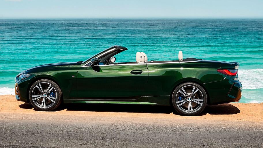 BMW Serie 4 Convertible 2021 llega a México, un descapotable único en su tipo
