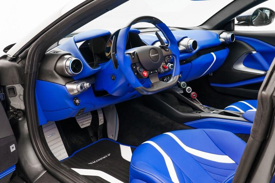 Mansory Stallone GTS: el Ferrari 812 GTS perfecciona su aerodinámica y poder