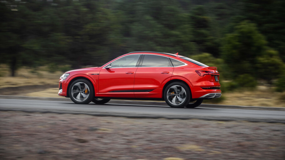 Audi E-Tron Sportback 2021 primer contacto, el mejor SUV eléctrico ahora sin espejos