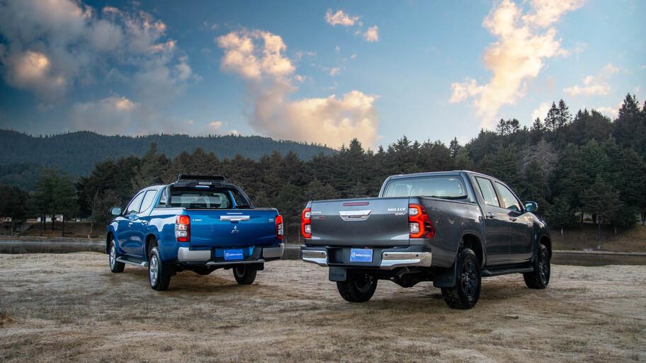 Mitsubishi L200 VS Toyota Hilux, te decimos cuál de estas pickups es la mejor