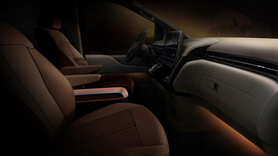 Hyundai Staria, el futuro de las minivans, con un estilo espacial