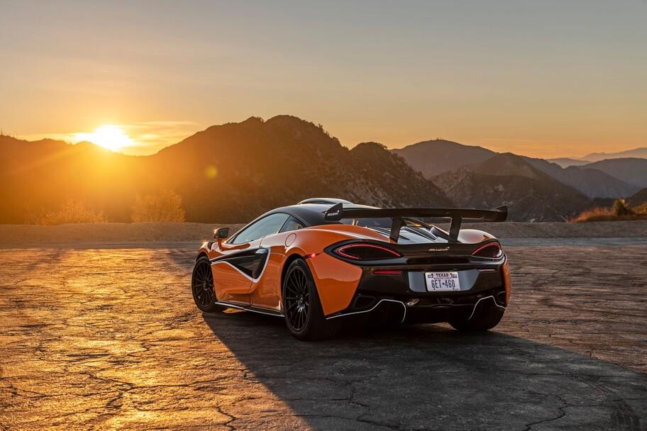 McLaren 620R: un auto de carreras GT4 apto para rodar en calles y carreteras