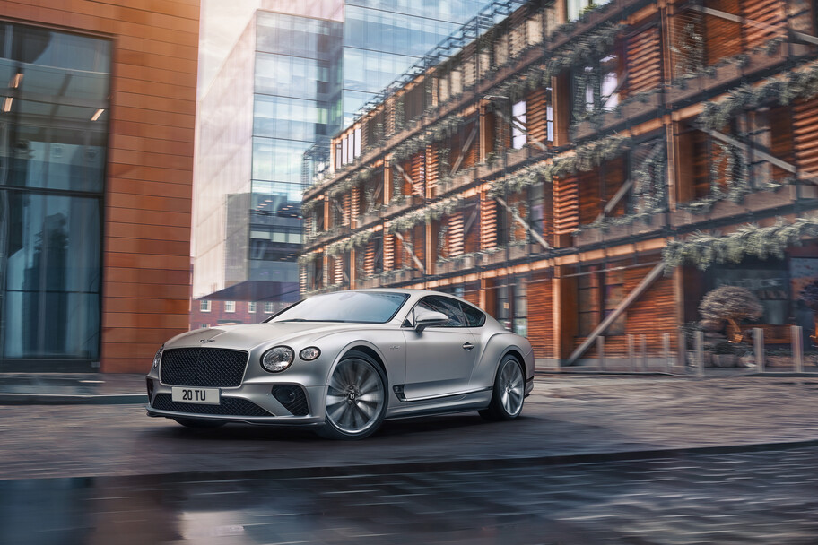 Bentley Continental GT Speed 2022: más poder y una dinámica de conducción superior