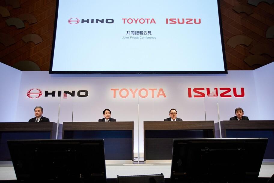 Toyota, Hino e Isuzu se asocian para el desarrollo de vehículos comerciales eléctricos