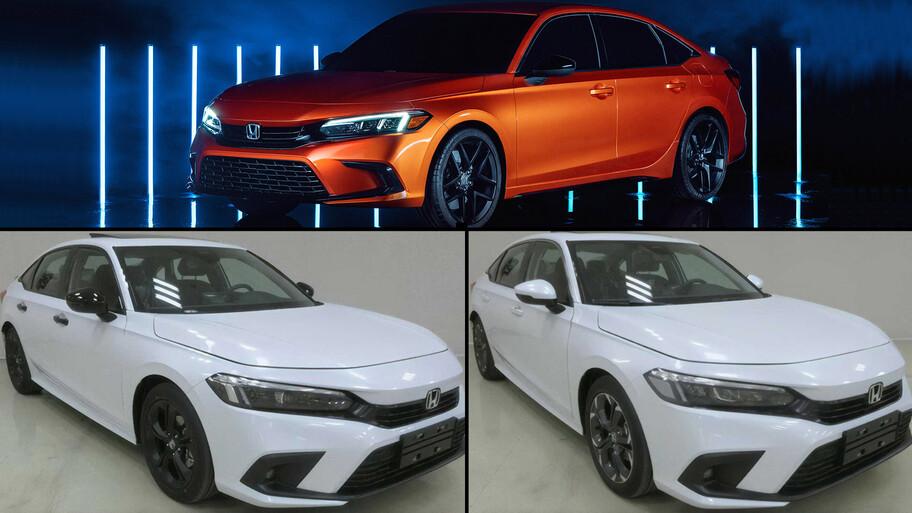 El nuevo Honda Civic 2022 se filtra por completo en China