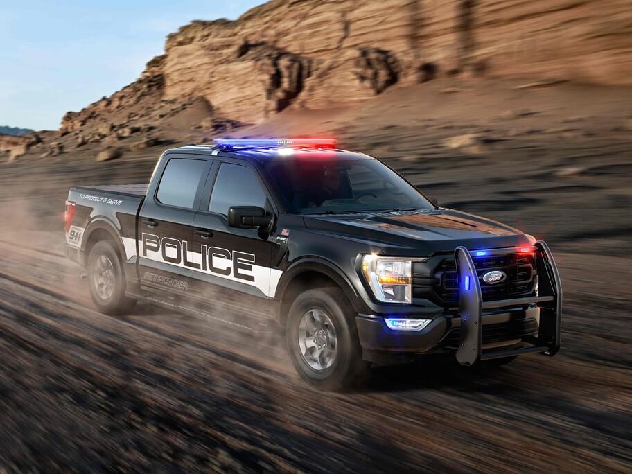 Ford F-150 Police Responder 2021: la Lobo es convertida en una patrulla de alto desempeño