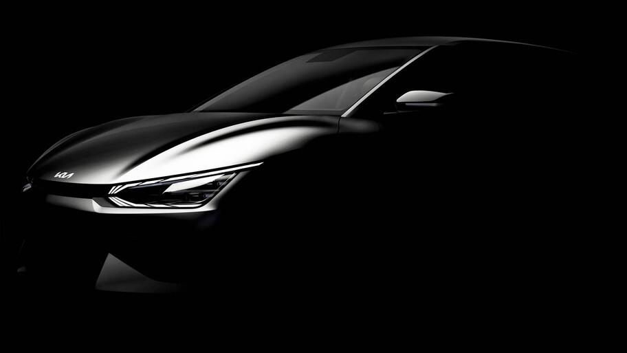 KIA EV6, el primer eléctrico de la marca comienza a destaparse