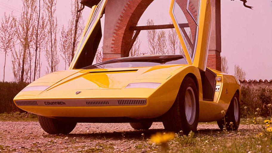 Lamborghini Countach LP500 cumple 50 años, el prototipo futurista que dio paso a una leyenda