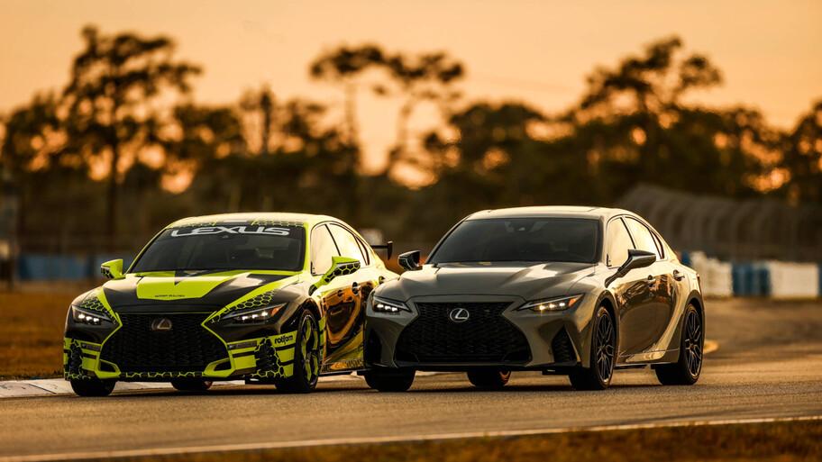 Lexus IS 500 F Sport Performance, un muscle car japonés
