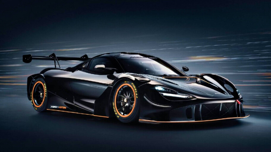 McLaren 720S GT3X: un auto de carreras sin límites