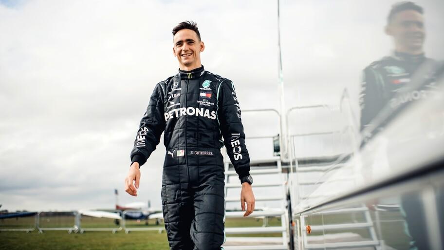 Mercedes-AMG Petronas F1 Team designa a Esteban Gutiérrez como embajador de la marca y de negocios