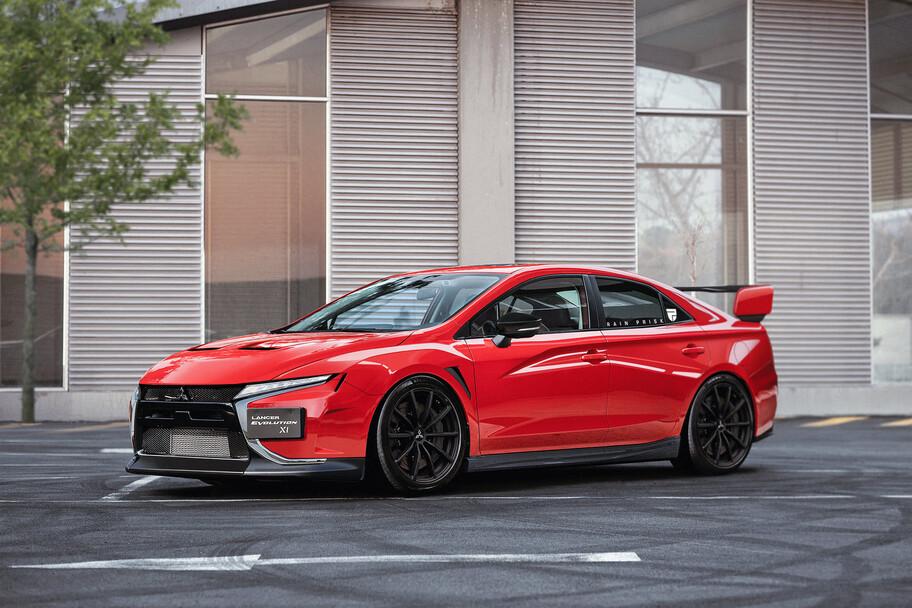 ¿Cómo luciría y cuánta potencia tendría el nuevo Mitsubishi Lancer Evo?