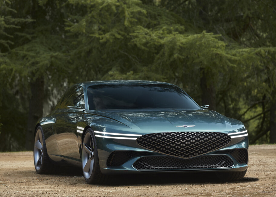 Genesis X Concept: un concepto que delata a un elegante y lujoso Gran Turismo eléctrico