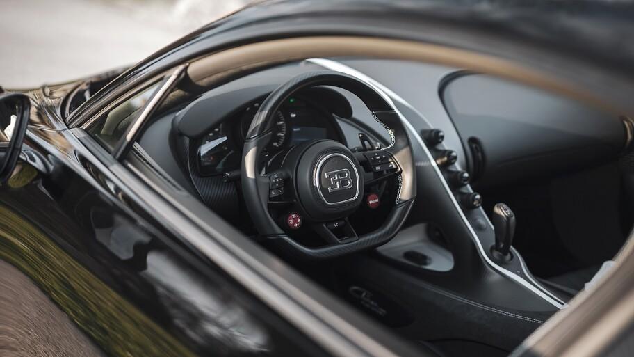 Bugatti Chiron número 300 sale de Molsheim