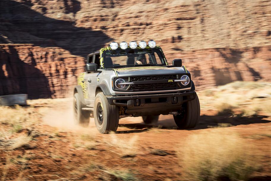 Ford Bronco RTR 2022 es más llamativo y capaz gracias al tuning