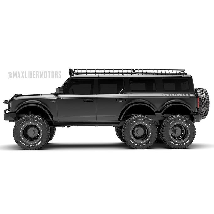Ford Bronco 6x6 por Maxlider Brothers Customs: un bestial SUV que vale 8 millones de pesos