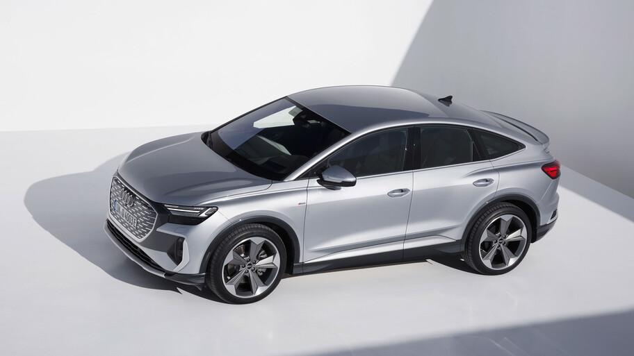 Audi Q4 e-Tron Sportback 2022, un SUV Coupé, tan atractivo como eficiente