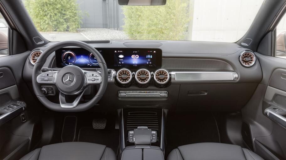 Mercedes-Benz EQB 2022, practicidad y espacio ahora en una opción 100% eléctrica