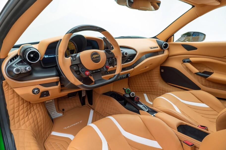Mansory FXX es un Ferrari F8 Tributo dotado de una carrocería espectacular y 880 hp