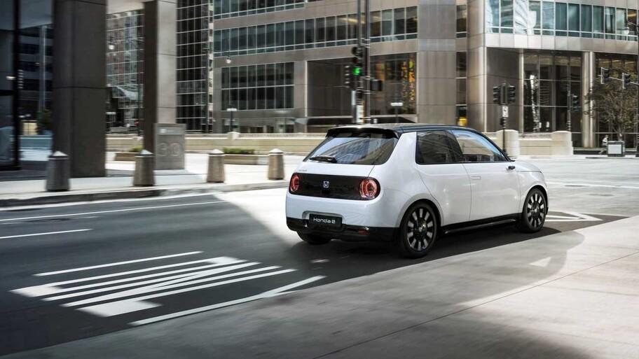 Honda e es el World Urban Car 2021