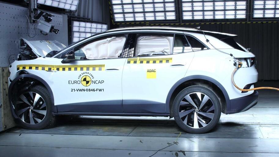 Volkswagen ID.4 es reconocido por el alto nivel de seguridad que ofrece a sus pasajeros
