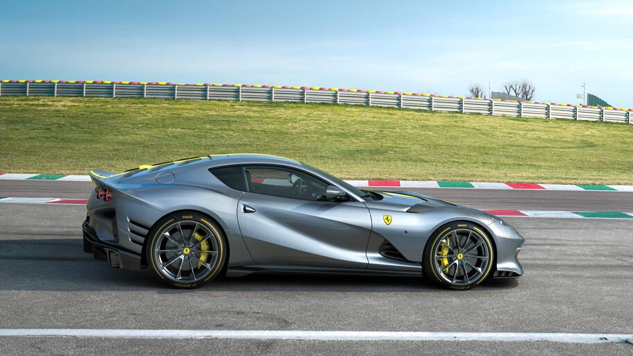 Ferrari V12 de Edición Limitada: un 812 Superfast con más potencia que el LaFerrari