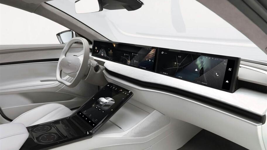 Zhiji L7, el auto eléctrico de SAIC y Alibaba que promete 1,000 kilómetros por carga