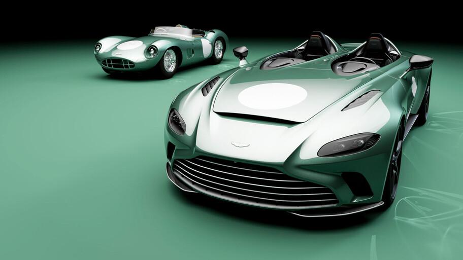 El Aston Martin V12 Speedster rinde tributo al DBR1 que ganó en Le Mans