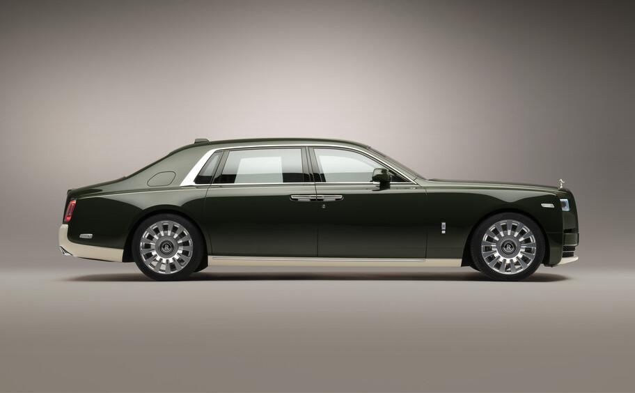 Este Rolls-Royce Phantom personalizado por Hermès es un pedido de un excéntrico cliente japonés