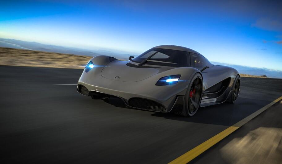 Viritech Apricale: un super auto eléctrico con más de 1,000 hp; cuesta 40 millones de pesos