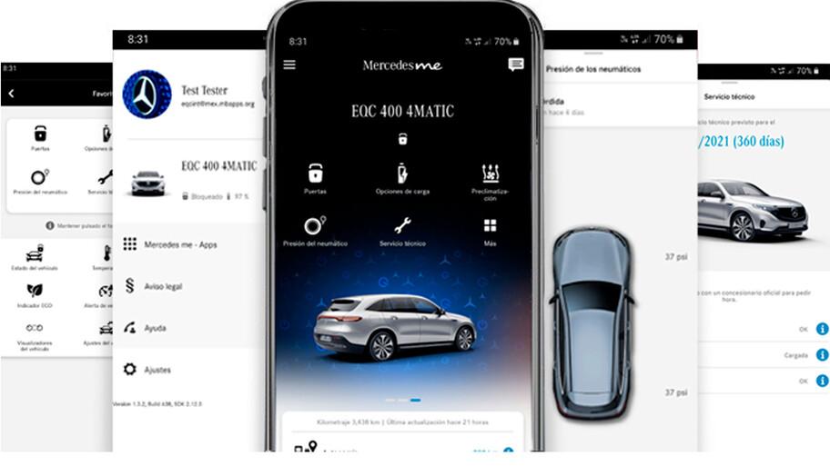Mercedes-Benz presenta en México las aplicaciones EQ Ready y Mercedes Me