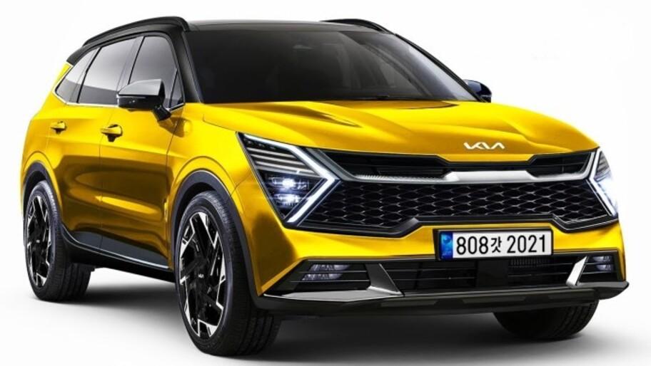 Así luce la nueva Kia Sportage 2022