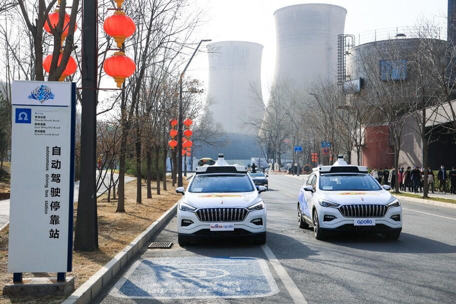 China lanza su primer servicio de taxis autónomos sin chofer de seguridad