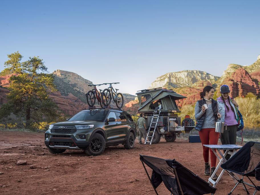 Ford Explorer Timberline 2021: el Explorer más capaz para el off-road