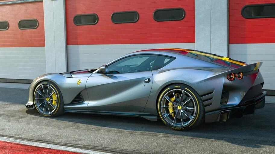 Ferrari 812 Competizione: el más poderoso en la historia de la marca italiana