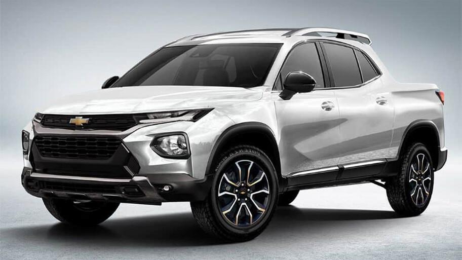 Chevrolet se prepara para lanzar una pick up basada en la Tracker