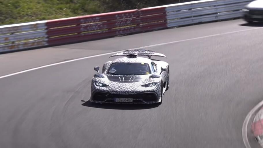 El Mercedes-AMG ONE ya rueda en Nürburgring y nos recuerda a un F1