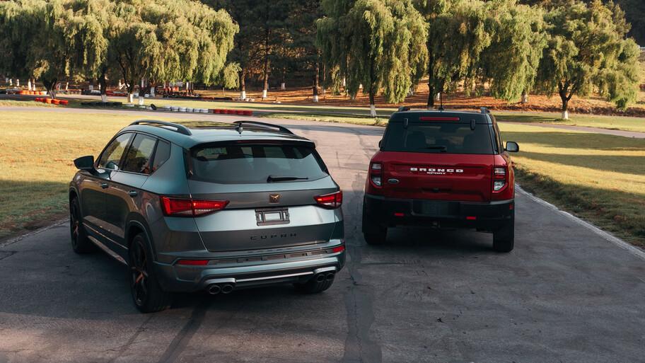 Ford Bronco Sport y CUPRA Ateca, una interesante categoría entre lo comercial y lo premium
